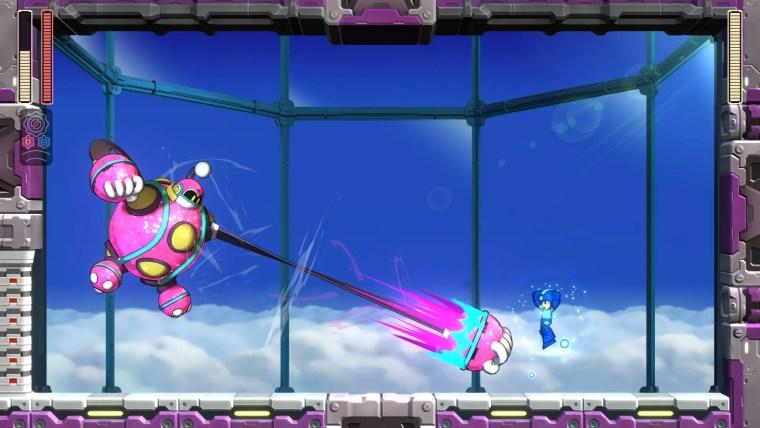 Mega Man 11 Bounce Man Screenshot