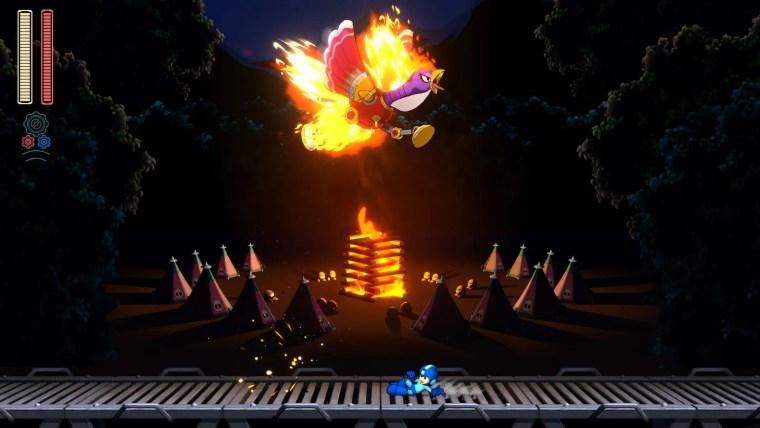 Mega Man 11 Sparkey Screenshot