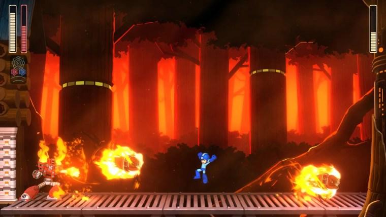 Mega Man 11 Torch Man Screenshot