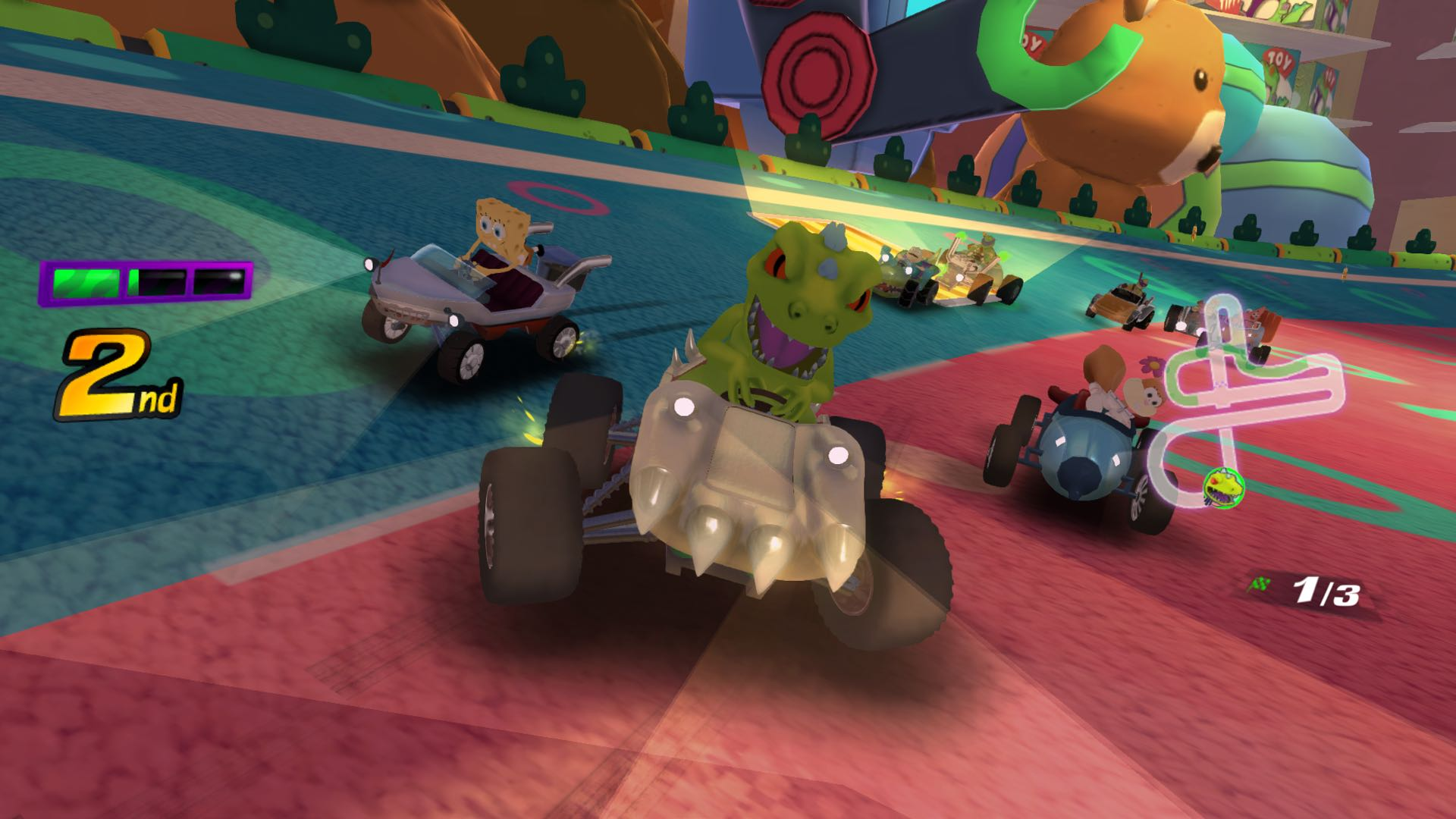 Nickelodeon Kart Racers Review – Switch – Nintendo Insider
