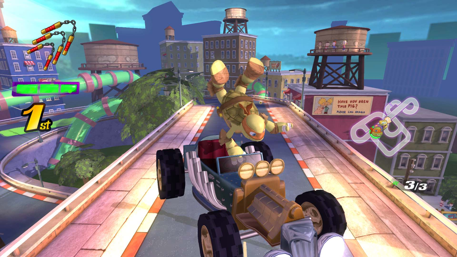 Nickelodeon Kart Racers Review Screenshot 2