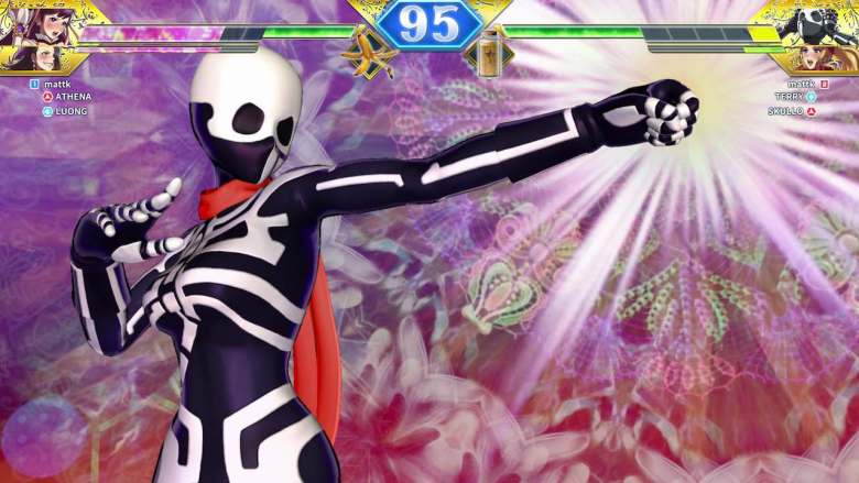 Skullo Mania SNK Heroines: Tag Team Frenzy Screenshot