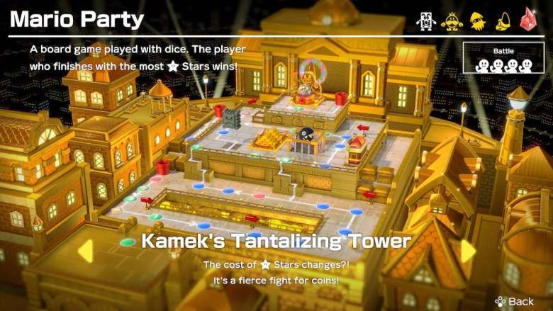 Super Mario Party Kamek's Tantalizing Tower Screenshot