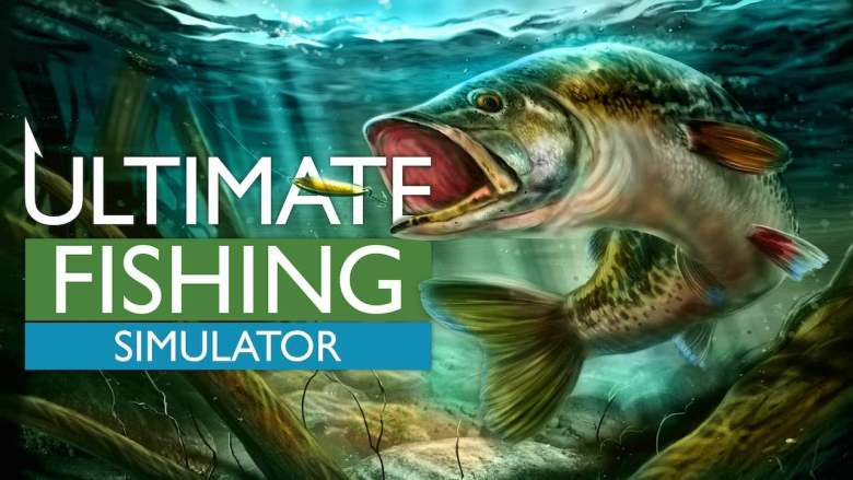 Ultimate Fishing Simulator Key Art