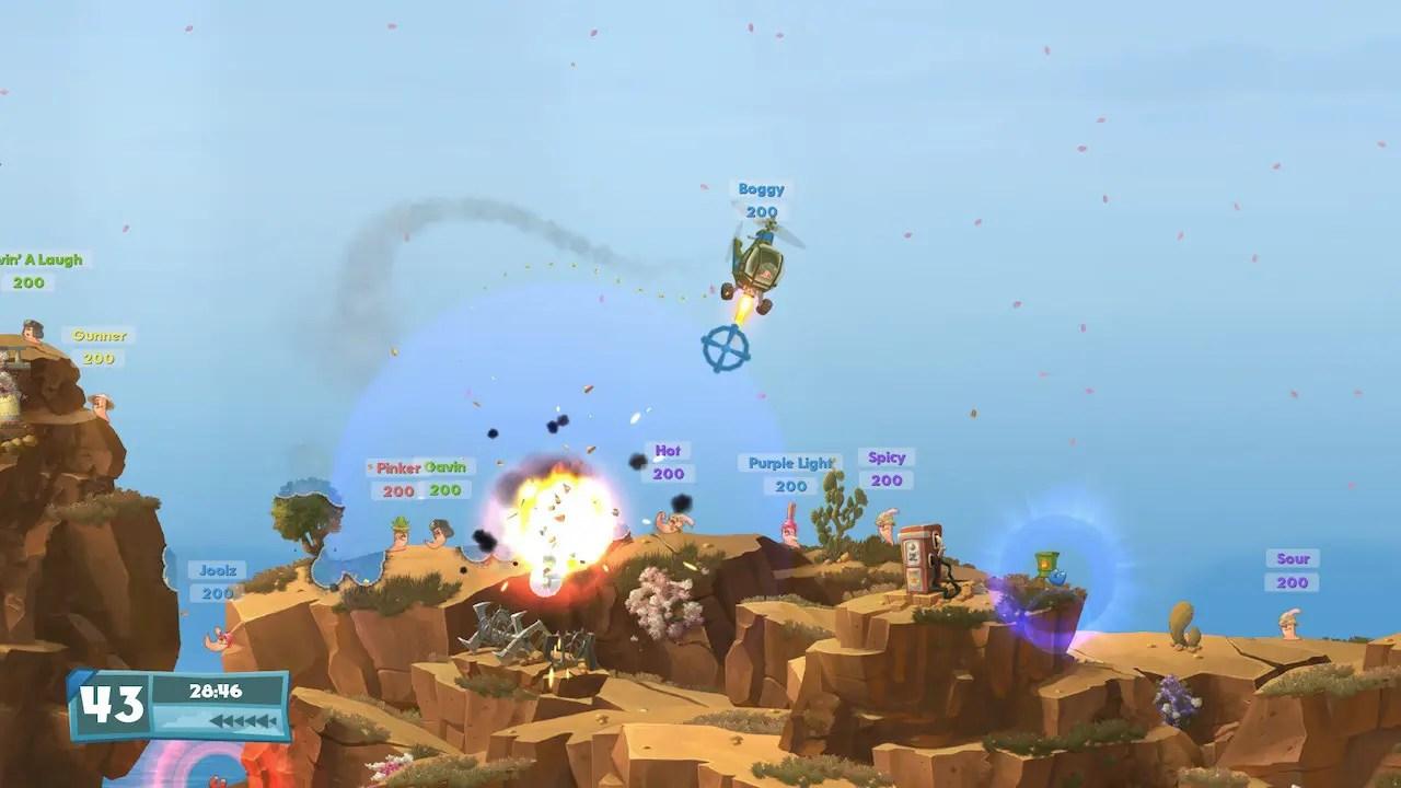 Worms W.M.D. Screenshot