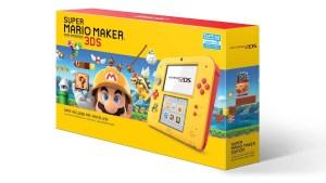 Nintendo 2DS Super Mario Maker Edition Bundle Photo