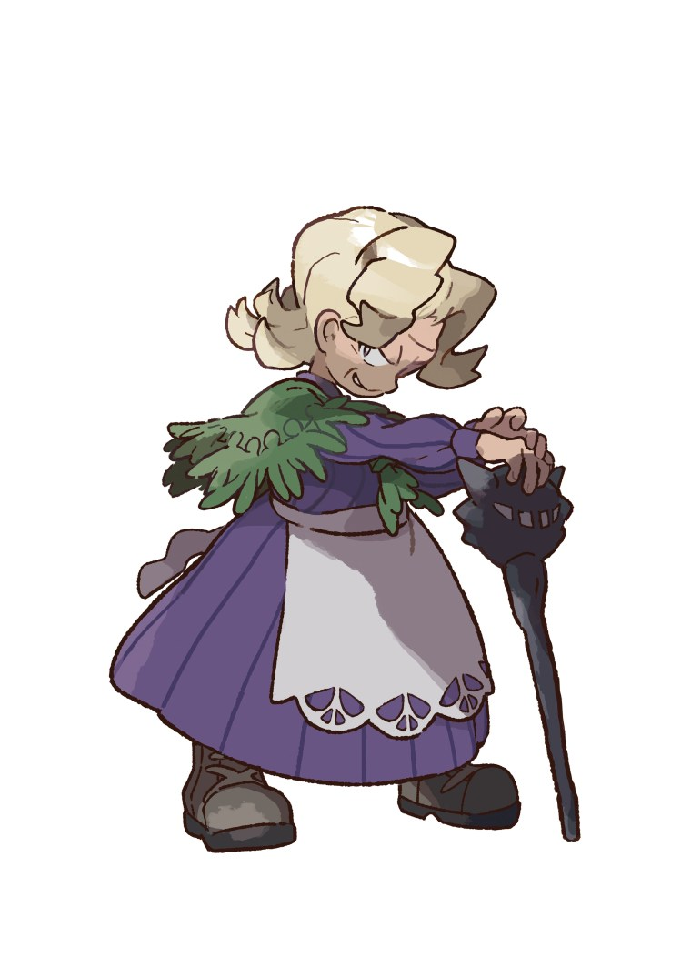 Pokémon Let's Go Agatha Artwork