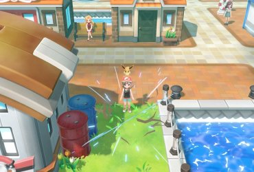Pokémon Let's Go Chop Down Screenshot