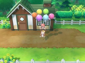 Pokémon Let's Go Sky Dash Screenshot