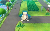 Pokémon Let's Go Snorlax Screenshot