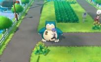 Pokémon Let's Go Snorlax Screenshot