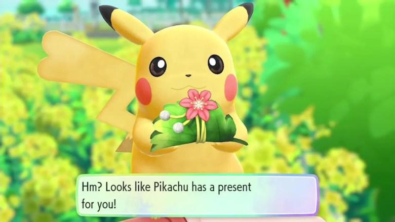 Present Pokémon Let's Go, Pikachu! Screenshot