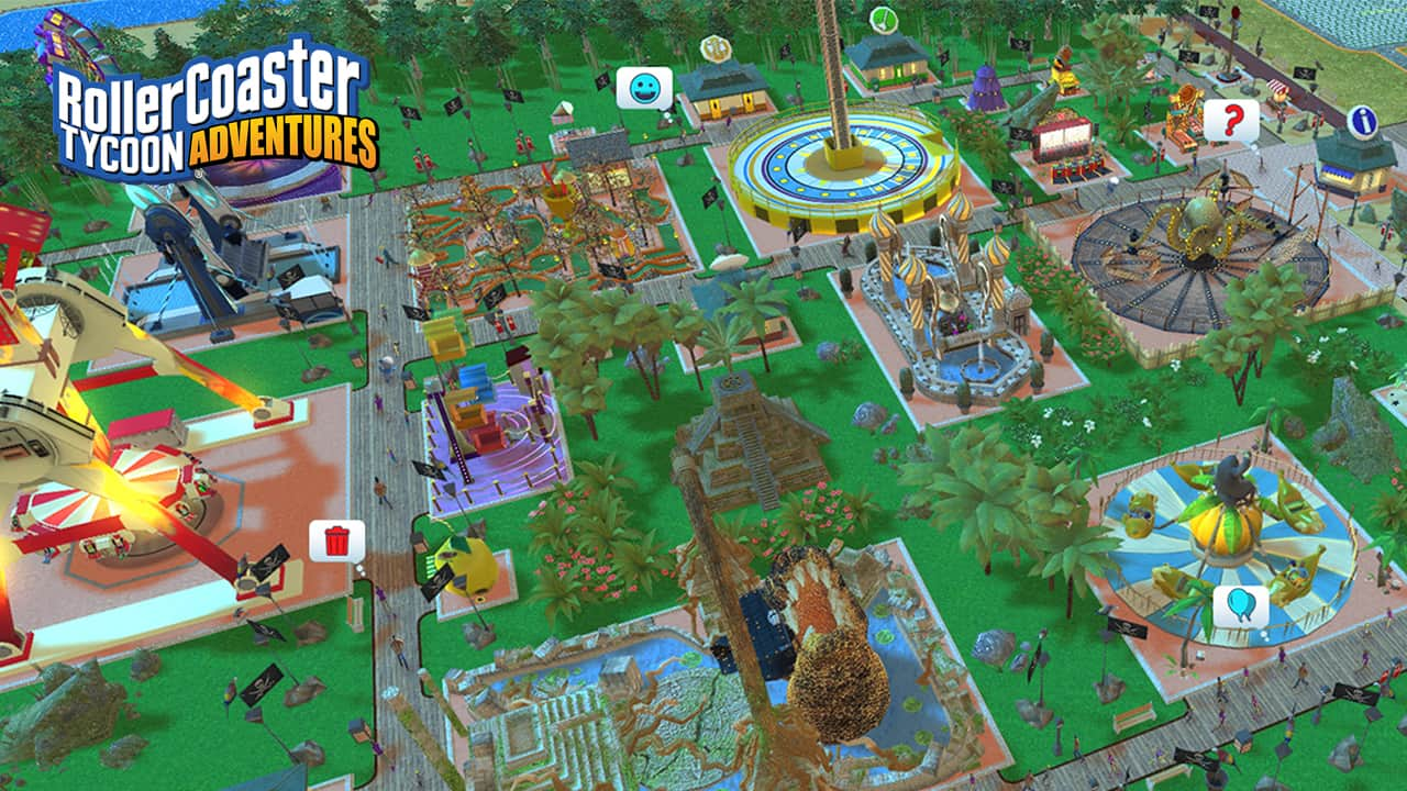 RollerCoaster Tycoon Adventures Out On Nintendo Switch This Week