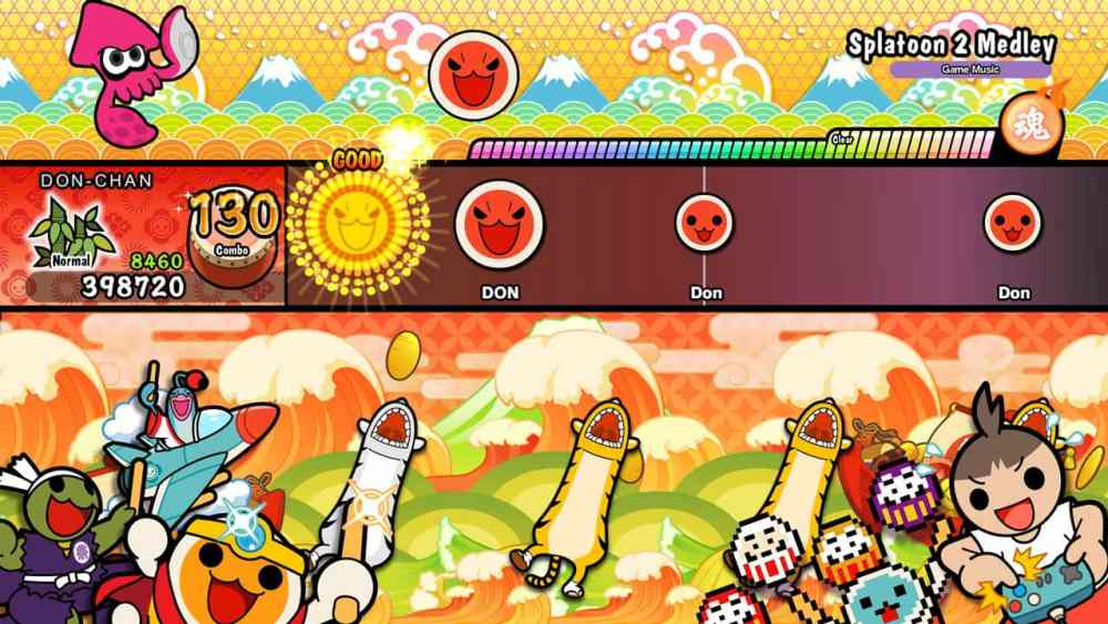 Taiko No Tatsujin: Drum 'N' Fun! Review Screenshot 1