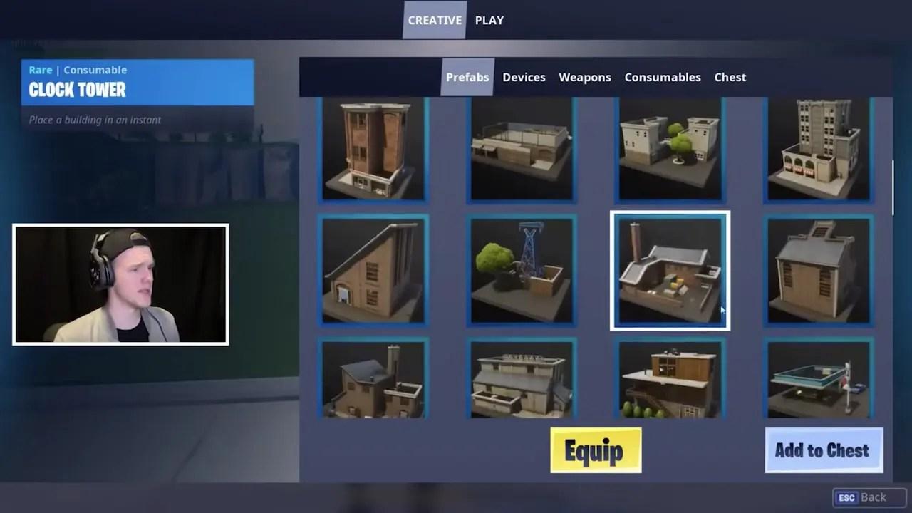 Fortnite Creative Mode Screenshot
