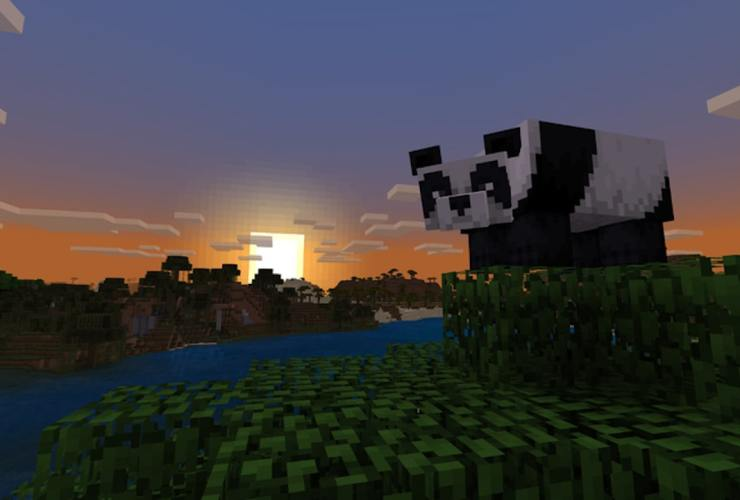 Minecraft Panda Screenshot
