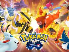 Pokémon GO Trainer Battles Key Art