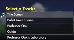 Pokémon Let's Go Soundtrack Screenshot