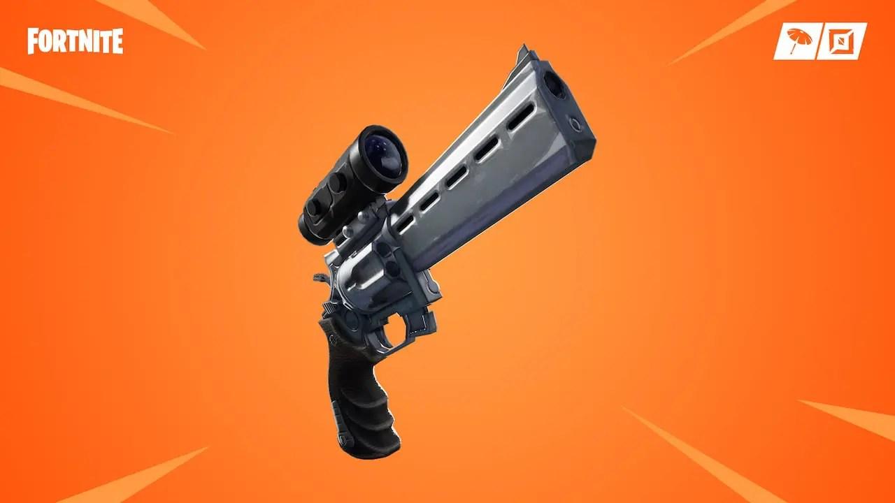 Fortnite Scoped Revolver Image