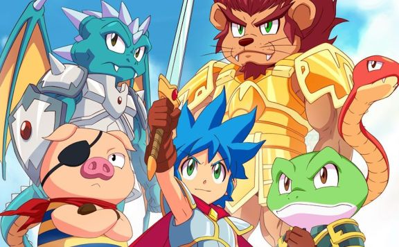 Monster Boy And The Cursed Kingdom Review Header