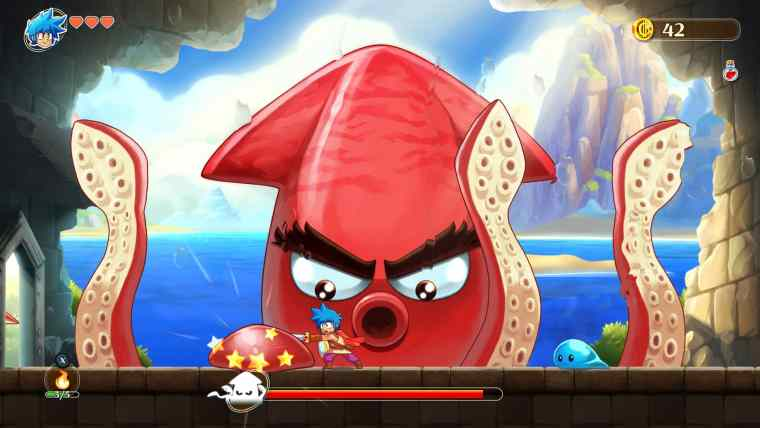 Monster Boy And The Cursed Kingdom Review Screenshot 2