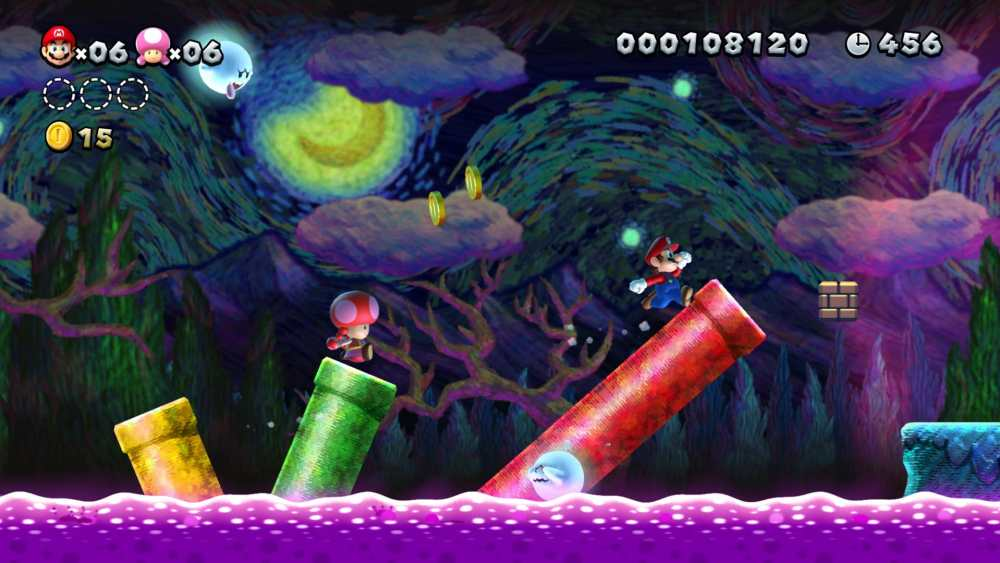 New Super Mario Bros. U Deluxe Review Screenshot 1