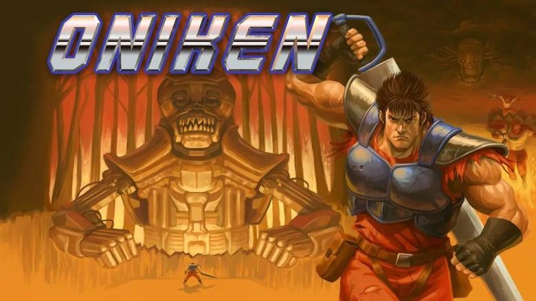 Oniken: Unstoppable Edition Key Art