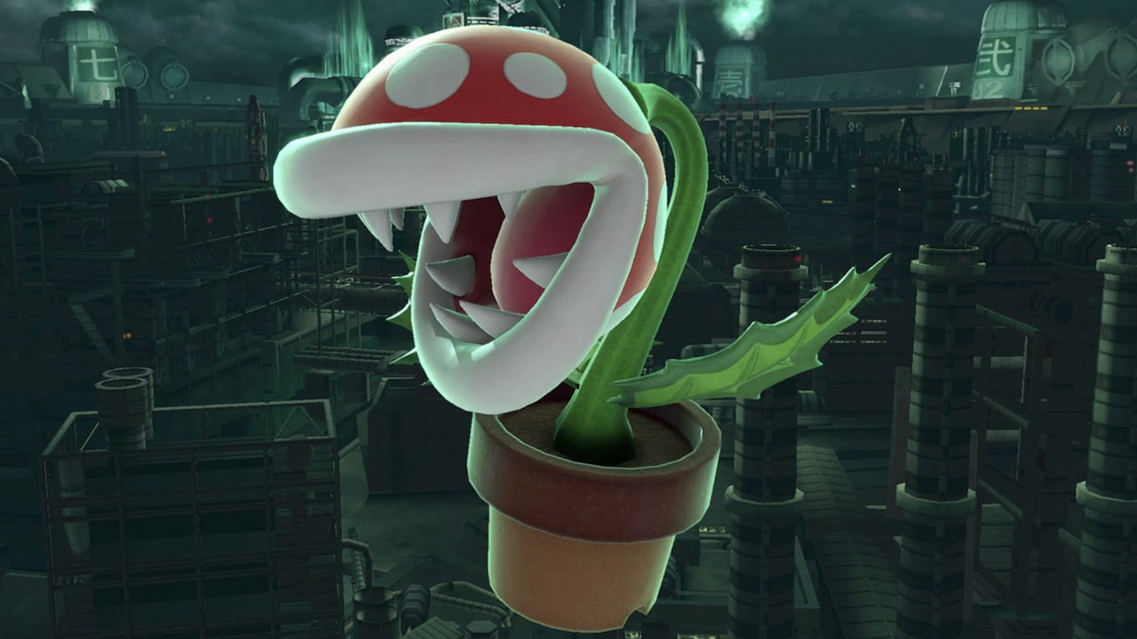 Super Smash Bros. Ultimate Piranha Plant Screenshot