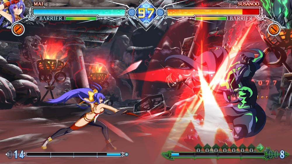 BlazBlue CentralFiction Special Edition Review Screenshot 2