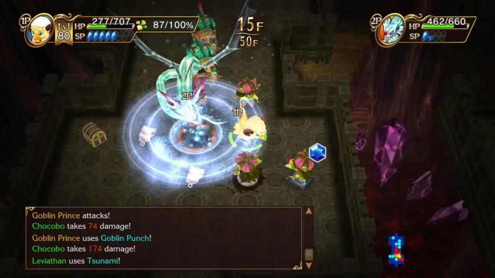 Chocobo's Mystery Dungeon: Every Buddy! Switch Screenshot 5