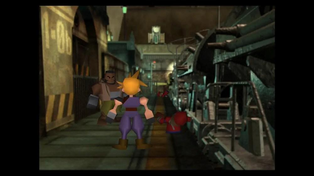 Final Fantasy VII Switch Screenshot 1