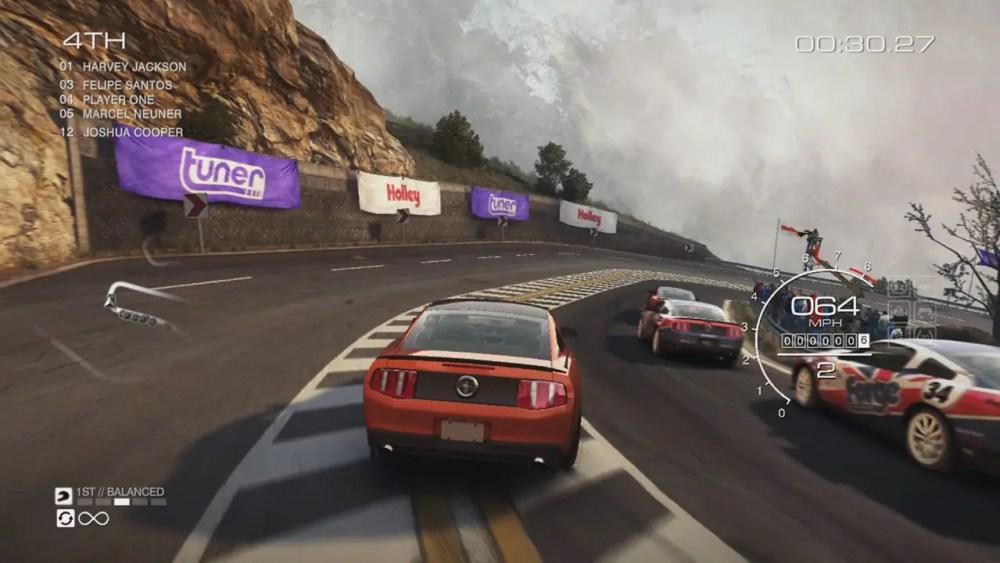 GRID Autosport Switch Screenshot 1