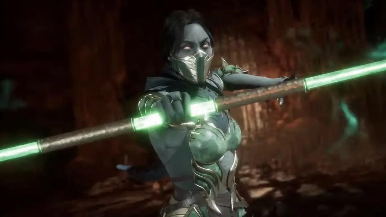 Jade Mortal Kombat 11 Screenshot