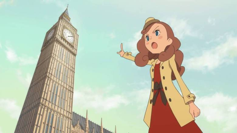 Layton's Mystery Journey Deluxe Edition Screenshot