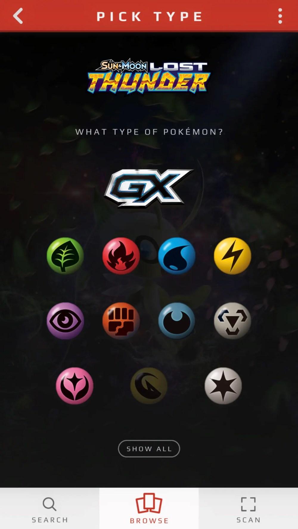 Pokémon TCG Card Dex Screenshot 7