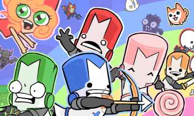 Castle Crashers Remastered Key Art
