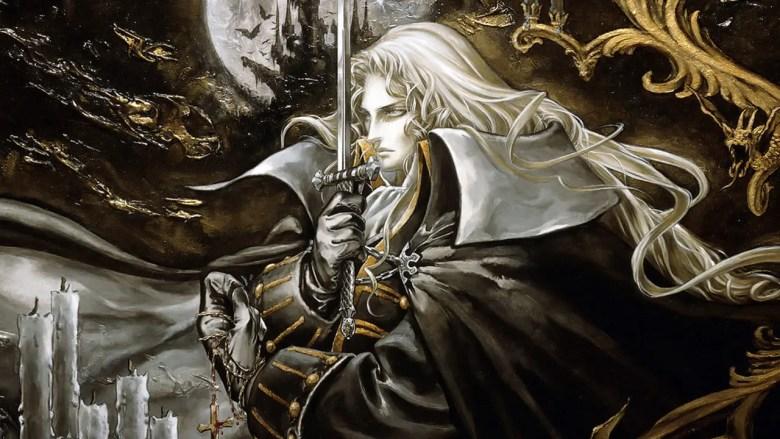 Castlevania: Symphony of the Night Key Art
