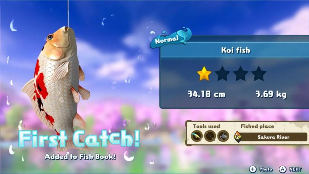 Fishing Star World Tour Review Screenshot 3