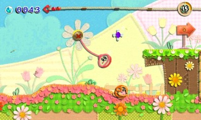 Kirby's Extra Epic Yarn Review Screenshot 2