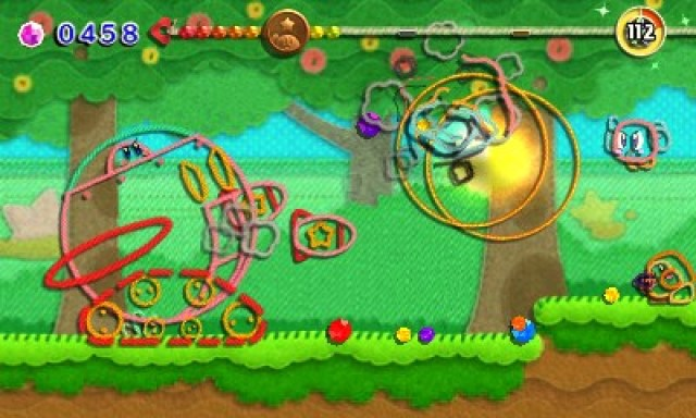 Kirby's Extra Epic Yarn Review Screenshot 4