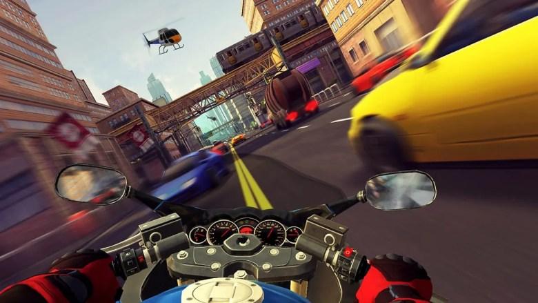 Moto Rush GT Screenshot