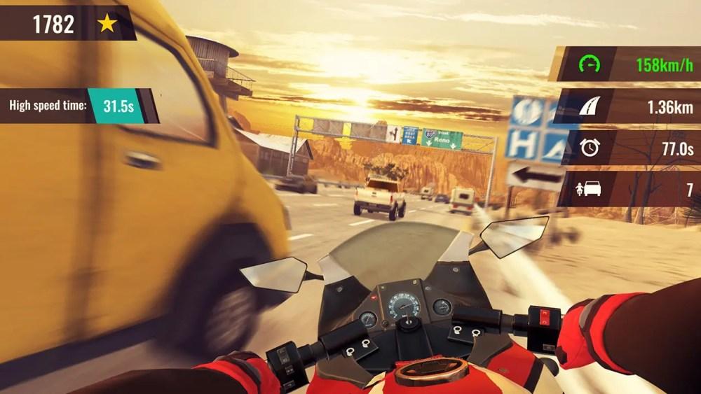 Moto Rush GT Screenshot 1