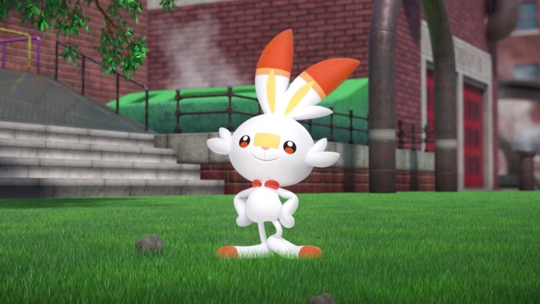 Pokémon Sword And Shield Scorbunny Screenshot