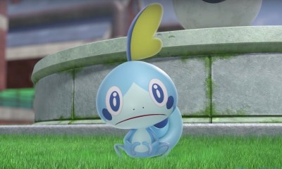 Sobble Pokémon Sword And Shield Screenshot