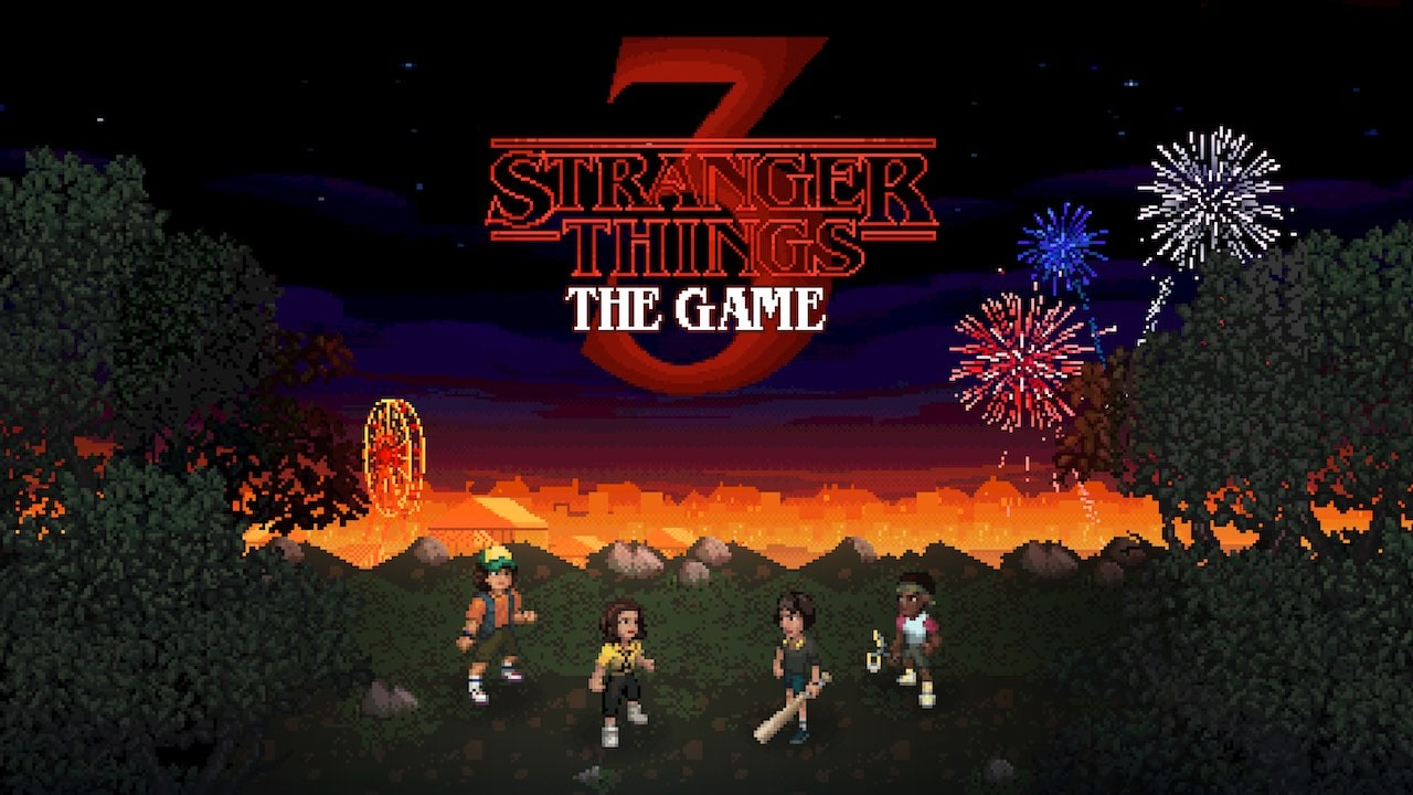 Stranger Things 3: The Game Key Art