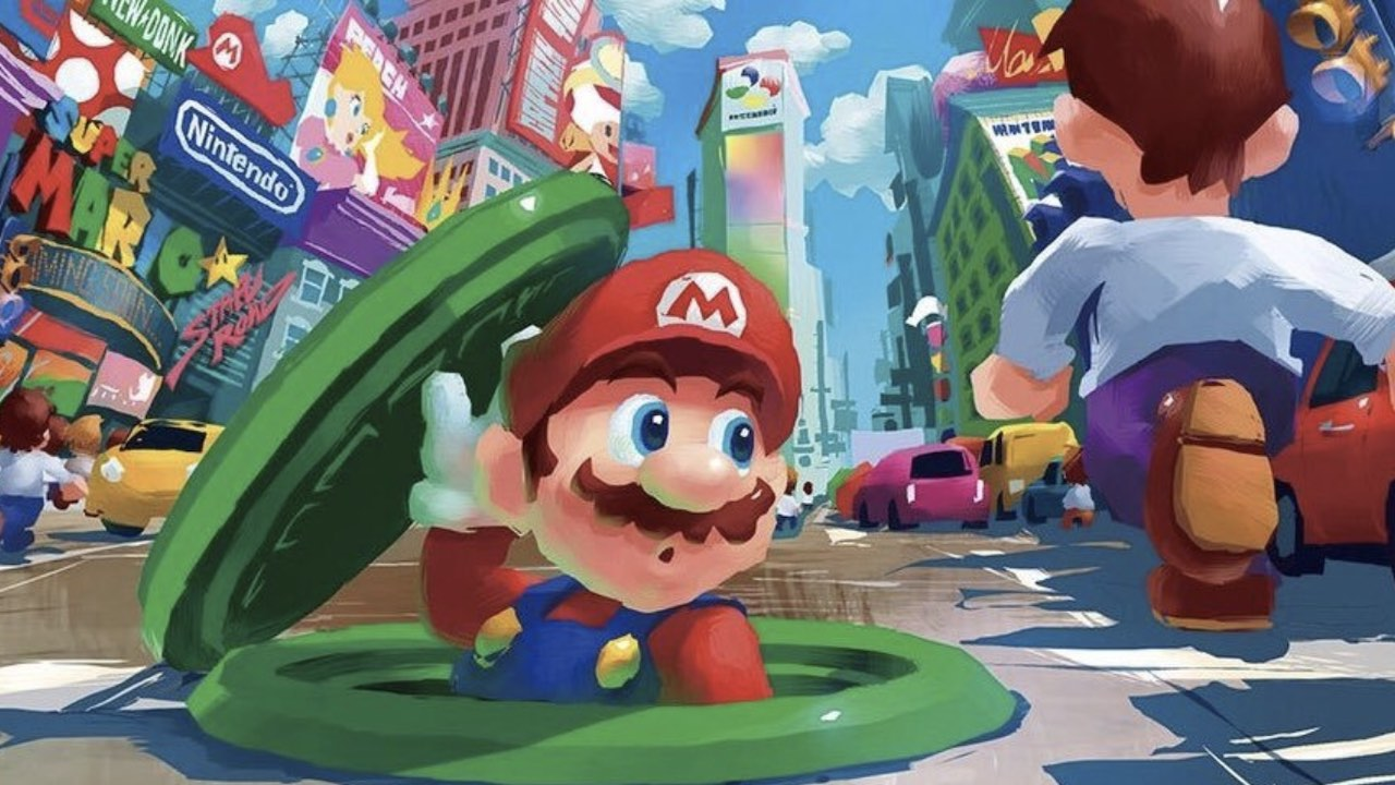 The Art Of Super Mario Odyssey Coming To North America This