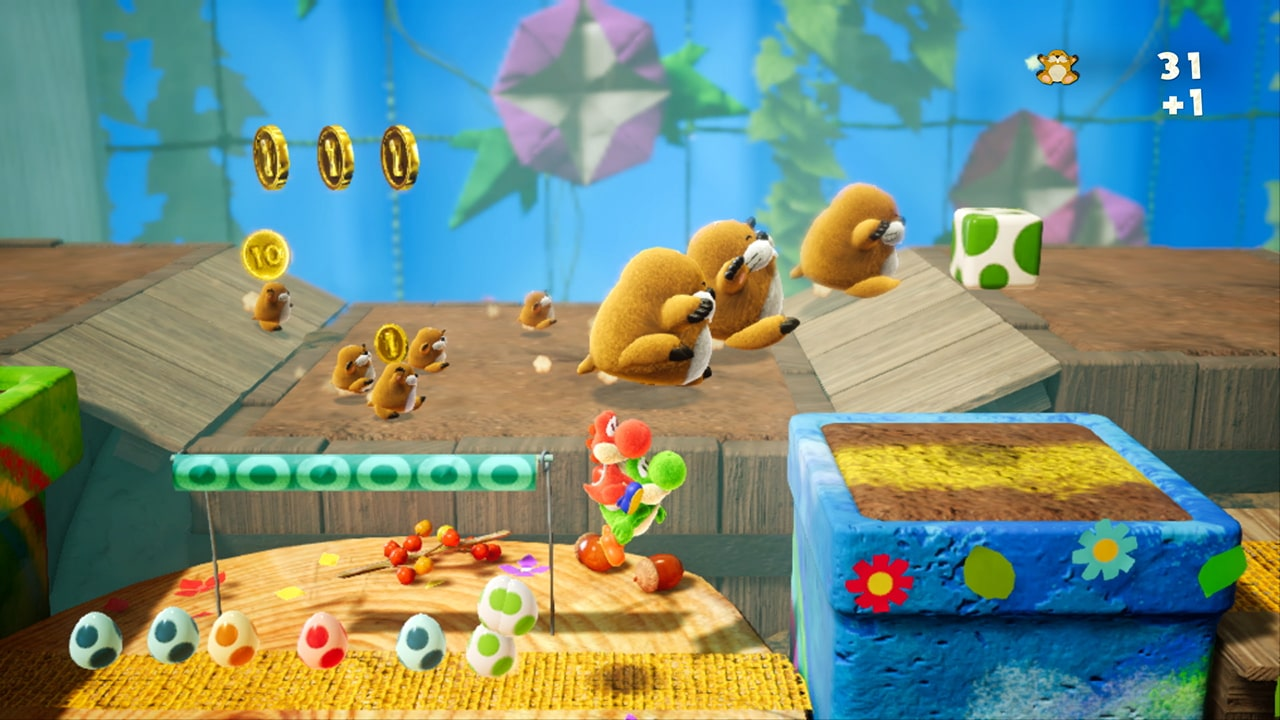 Yoshi's Crafted World Review Screenshot 1