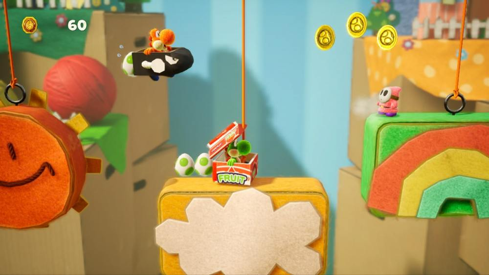 Yoshi's Crafted World Review Screenshot 3