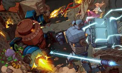 AngerForce: Reloaded Review Header