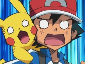 Ash Pikachu Shocked Screenshot